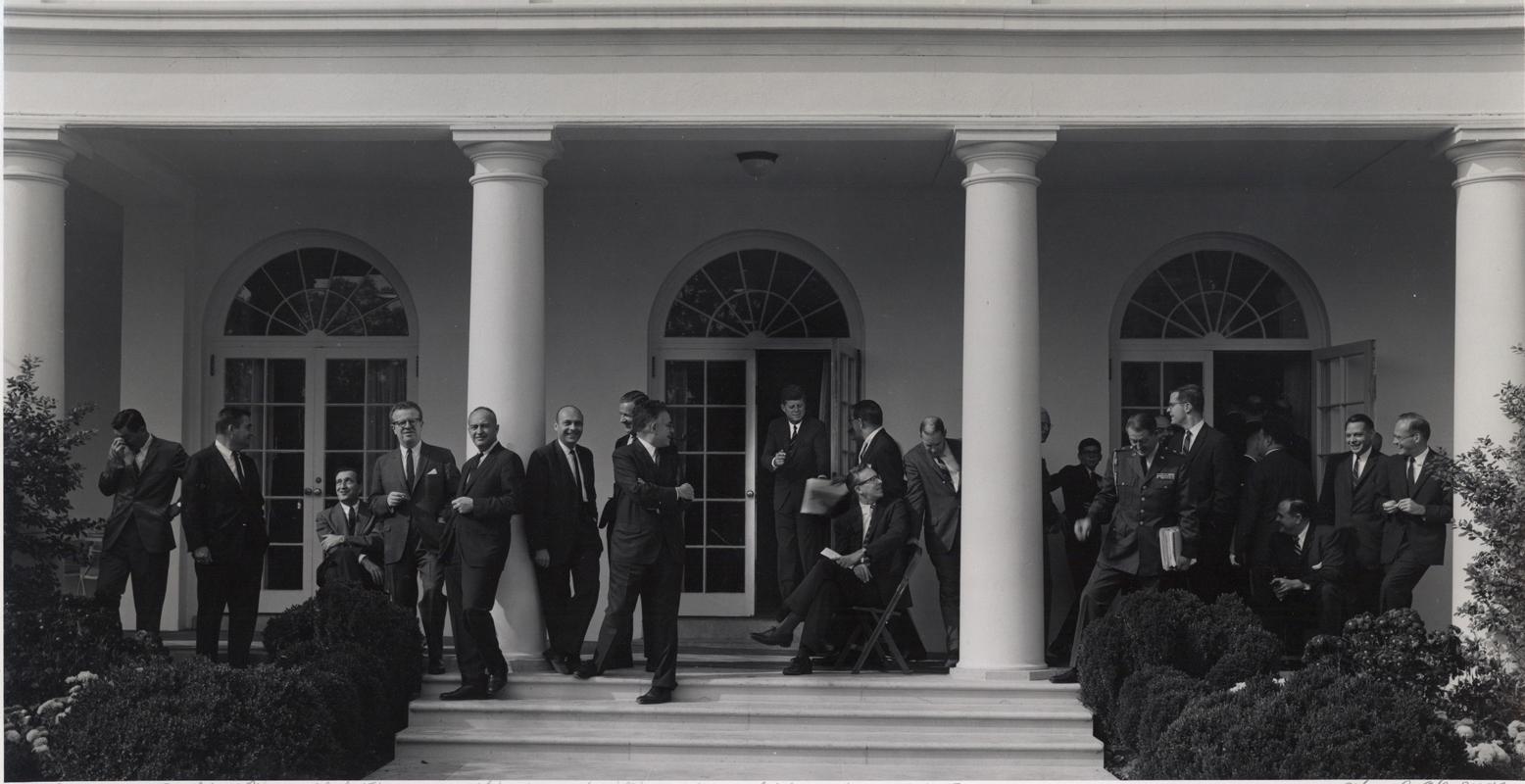 Arnold Newman President Kennedy