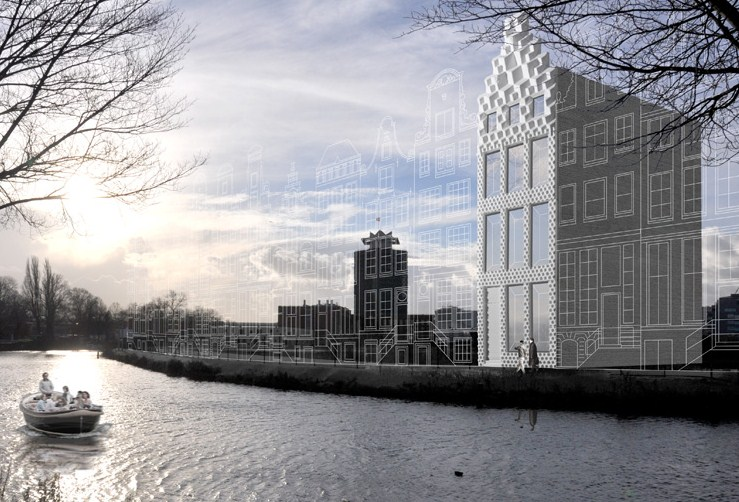 DUS architects - 3D printed canal house
