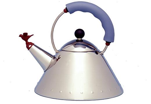 Alessi tea kettle– Michael Graves