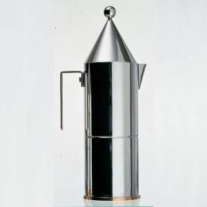 Alessi design coffee pot