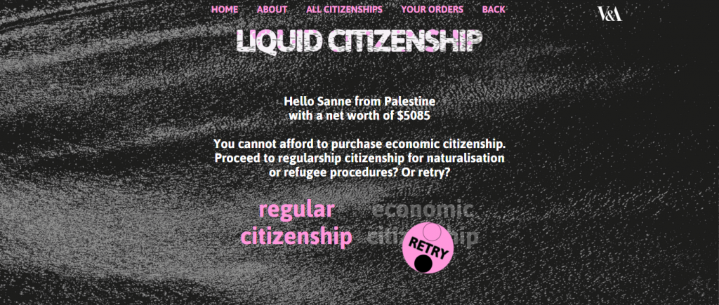 Liquid Citizenship